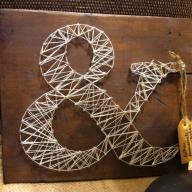 letras con hilos