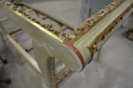 restauración de dorado