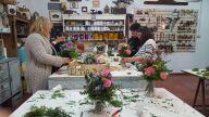 taller de arreglos florales impartido por Verónica Maceira