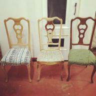 proceso de restyling de sillas