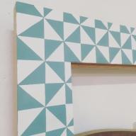 detalle de decoración geométrica